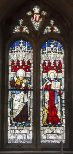 St Peter and St John the Evangelist