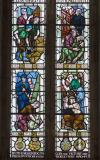 Scenes of the War Effort: Christ in Glory with Virtues