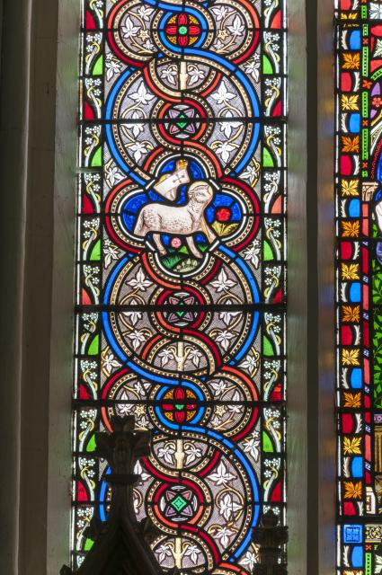 Agnus Dei    detail from    Christ with Chalice