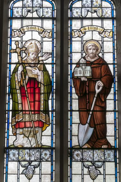 St David and St Illtud    from    Saints