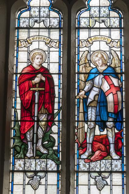 St George and St Michael the Archangel    from    Saints
