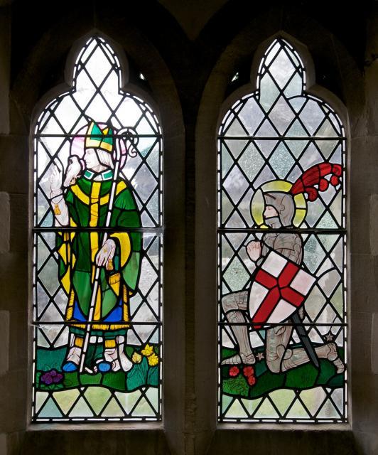 St David and St George