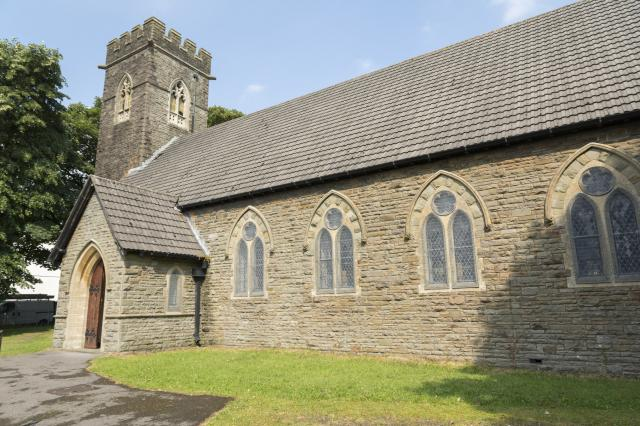 Church of St John, Nelson, Caerphilly height=