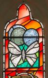 Butterfly: Memorial Window