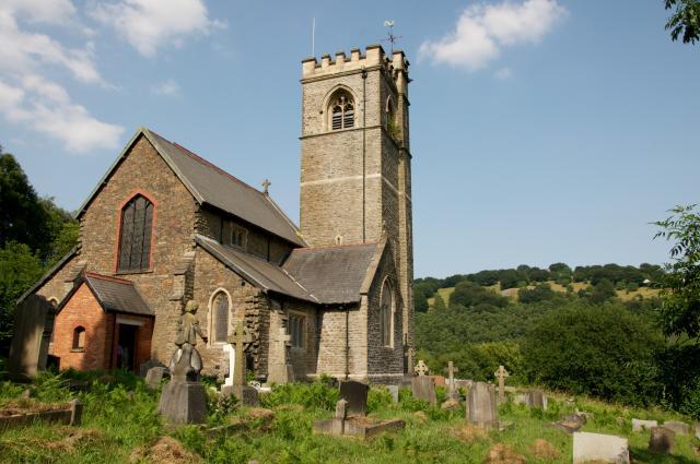 Christ Church, Aberbeeg, Caerphilly Aberbeeg_DSC7189B.jpg Photo © Martin Crampin