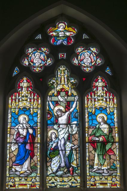 The Crucifixion with the Virgin Mary, St John and St Mary Magdalene