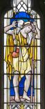 Christ the Good Shepherd: Christ the Good Shepherd with St Francis and St David