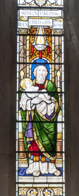 Simeon Holding the Infant Christ