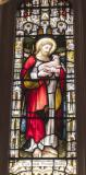 Christ the Good Shepherd: Christ the Good Shepherd with St John the Baptist and St John the Evangelist
