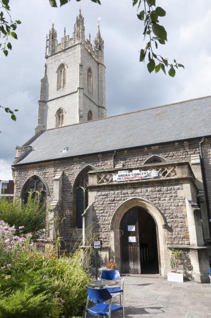 Church of St John the Baptist, Cardiff Cardiff_StJohn_DSC8962B.jpg Photo © Martin Crampin