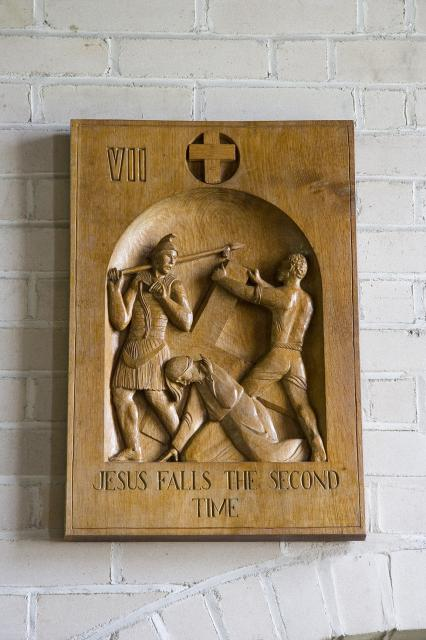 Jesus Falls the Second Time    from    Stations of the Cross