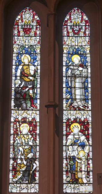 St Martin, St Francis, St Elizabeth of Hungary and St Anna Teaching the Virgin Mary