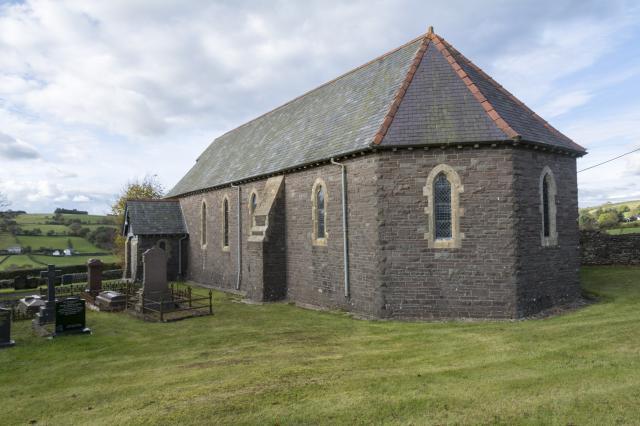 Church of St Ilid, Crai, Powys Crai_DSC3291-71A.jpg Photo © Martin Crampin