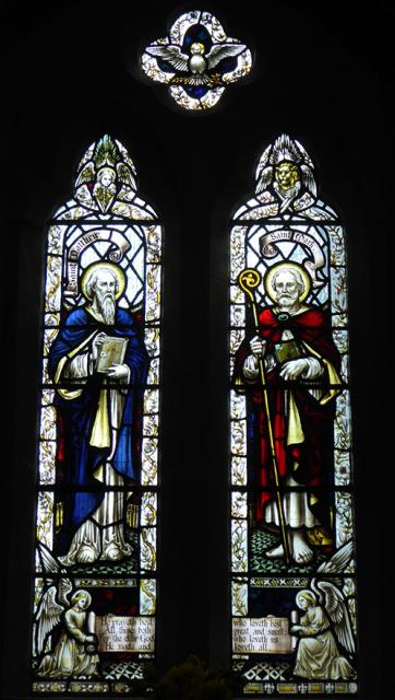 St Matthew and St Mark    from    The Four Evangelists