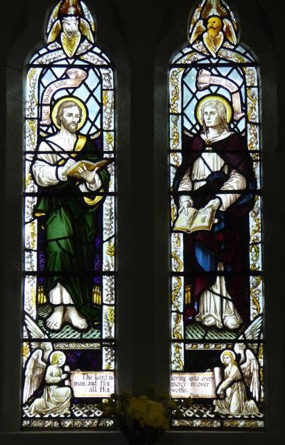 St Luke and St John    from    The Four Evangelists