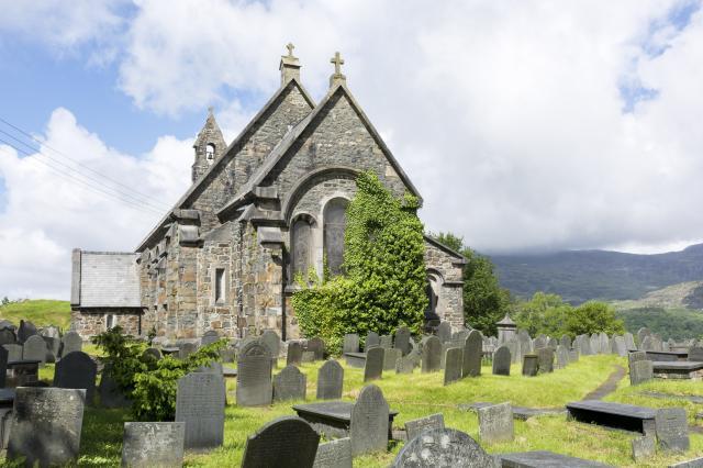Church of St Michael, Llan Ffestiniog, Gwynedd LlanFfestiniog_DSC9072_52A.jpg Photo © Martin Crampin