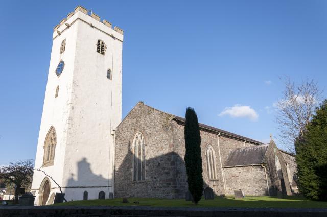 Church of St Peter, Carmarthen, Carmarthenshire CarmarthenStPeter_DSC2574B.jpg Photo © Martin Crampin