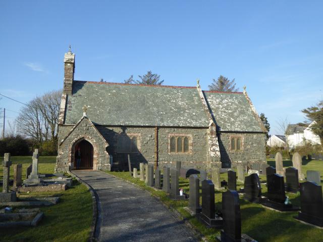 Church of St Afran, St Ieuan and St Sanan, Llantrisant, Anglesey P1270678a.JPG Photo © Peter Jones