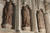 St Deiniol, St Illtud and St Hilda: The Crucifixion with Saints