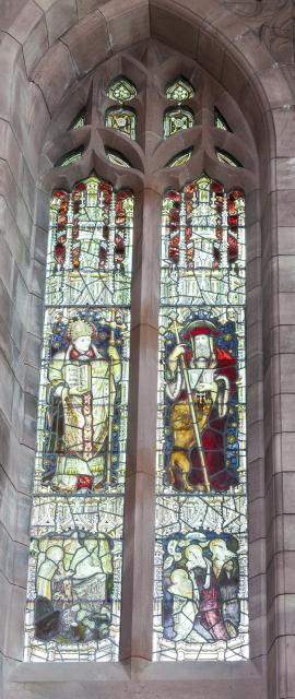 St Ambrose and St Jerome