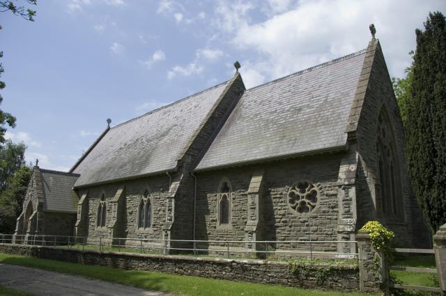 Church of All Saints, Glasbury, Powys _MG_1916.jpg Photo © Martin Crampin, Imaging the Bible in Wales