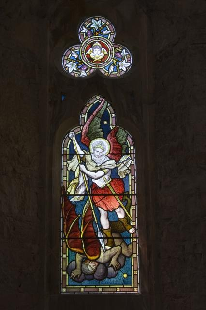 St Michael Overcoming Satan    from    Archangels Slaying Dragons