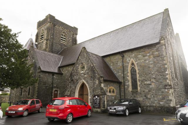 Christ Church, Carmarthen, Carmarthenshire CarmarthenChristChurch_DSC5793-71A.jpg Photo © Martin Crampin