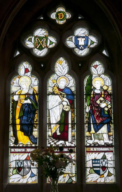 St Mary Magdalene, St Peter and St Stephen    from    Figures from the Bible and Saints