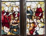 John the Baptist Recognising Christ: The Annunciation to Zacharias and John the Baptist Recognising Christ