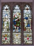 St John the Baptist, St Christopher and St Peter