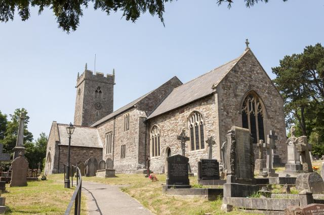 Church of St Augustine, Rumney, Cardiff, Monmouthshire Rumney_DSC7015B.jpg © Martin Crampin, photo Ma