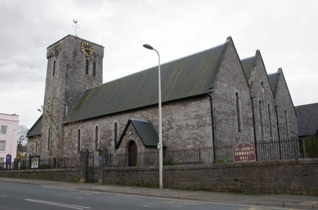 Church of St John, Pembroke Dock, Pembrokeshire PembrokeDock_DSC8171A.jpg Photo © Martin Crampin