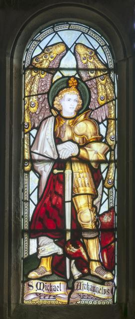 St Micheal the Archangel    detail from    Saints