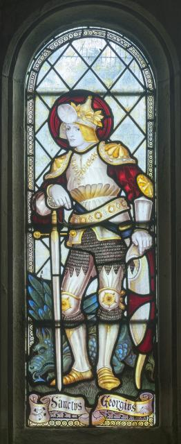 St George    detail from    Saints