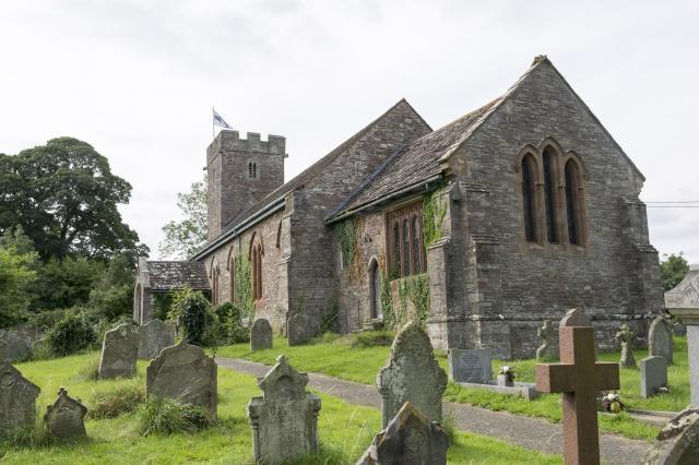 Church of St Michael, Llanvihangel Crucorney, Monmouthshire LlanfihangelCrucorney_DSC2448-71A.jpg Photo © Martin Crampin