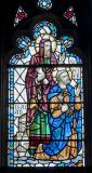 Isaiah and St Peter: Christ in Majesty with Isaiah and Saints