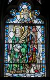 St Stephen and St Augustine: Christ in Majesty with Isaiah and Saints