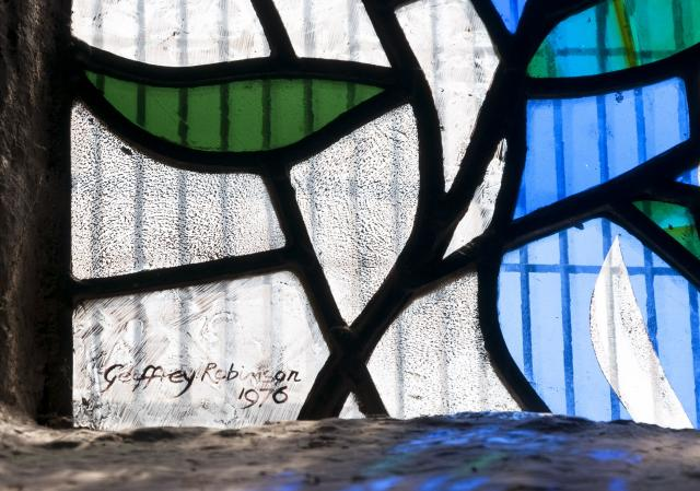 Signature    from    Baptistry Window