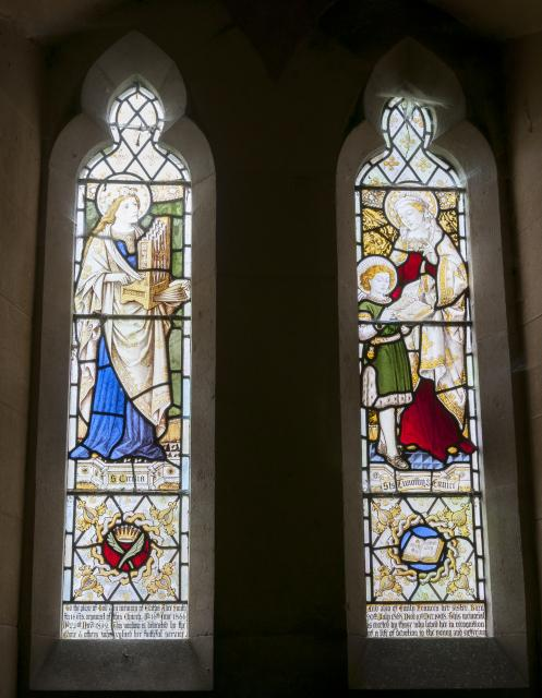 St Cecilia and St Eunice Teaching St Timothy