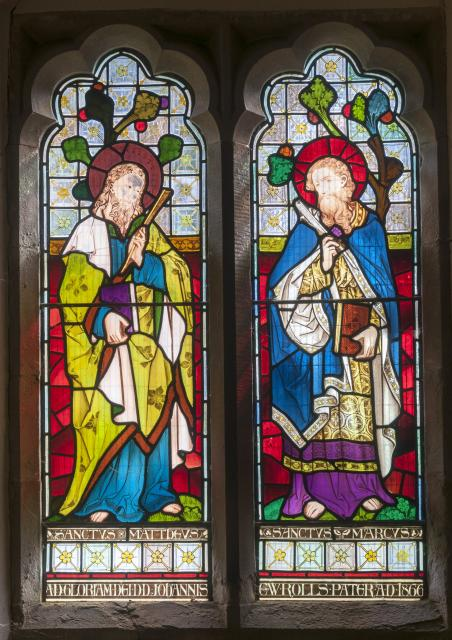 St Matthew and St Mark    from    The Four Evangellists