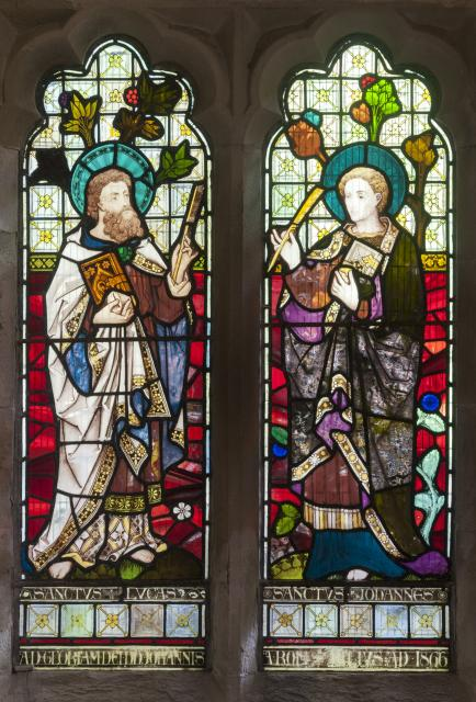 St Luke and St John    from    The Four Evangellists