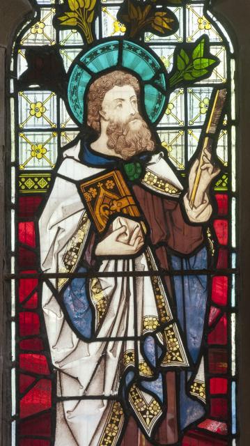 St Luke    detail from    The Four Evangellists