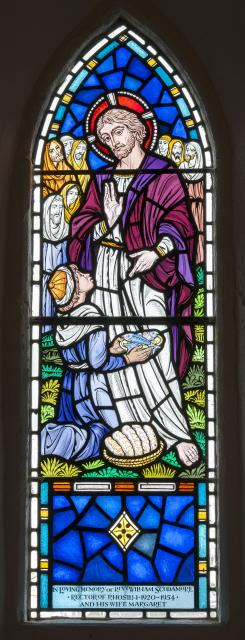 Christ Blessing the Bread and Fish Brought by a Boy