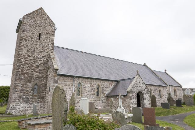Church of St Mary the Virgin, Rhossili, Swansea Rhossili_DSC7206.jpg Photo © Martin Crampin