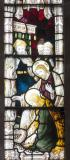 Christ's Feet are Anointed at the House of a Pharisee: The Crucifixion with Scenes from the Gospels