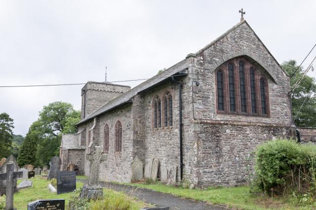Church of St Cadmarch, Llangammarch Wells, Brecknockshire Llangammarch_DSC7672B.jpg Photo © Martin Crampin
