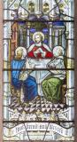 The Supper at Emmaus: The Crucifixion with the Virgin Mary, St John and St Mary Magdalene