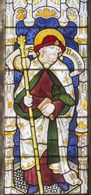 St Barnabas    detail from    New Testament Saints