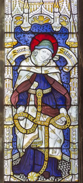 St Silas    detail from    New Testament Saints