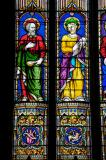 St Matthew and St Mark: Christ with the Four Evangelists